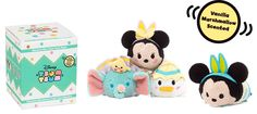 Easter 2017 Tsum Tsum Mystery Box coming to Europe on March 7, 2017. 1 of 4 character in each box. Which one will you get?