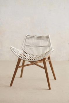 Scrolled Rattan Chair #homedecor #anthropologie #furniture