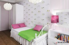 simple kids room design and lovely wall decor  Creative Ideas For Decoration Of Kids Room