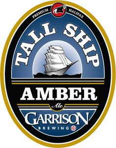 Garrison Brewing Co. Canadian Beer, Craft Beer Labels, Beer Art, Brewing Company, Tall Ships, Brewery, Drinks, Logos, Vintage