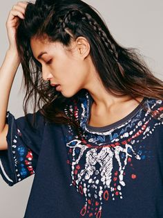 We The Free Batik Festive Tee at Free People Clothing Boutique