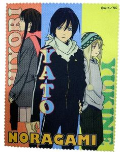 Love this anime. Fourth after DC series, Zetsuen No Tempest and Kamisama Hajimemashita!♥ #Noragami