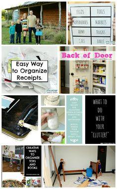 Home Organization Ideas � November