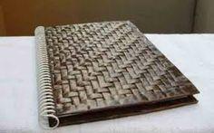 Resultado de imagen para cesteria en papel de periodico (cesteria china)