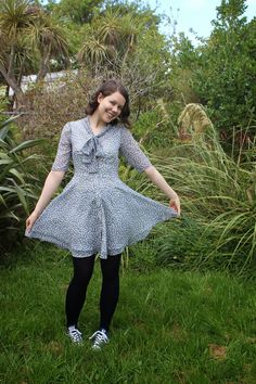 Making It Well: Completed: La Sylphide Dress in EEP, chiffon!