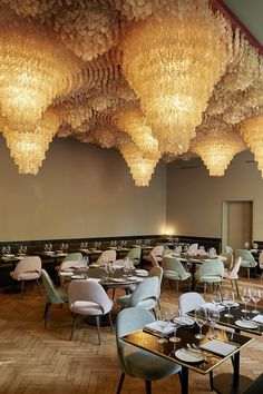 These extraordinary lamps is from the shell roof in Basel. The lamps used to be in Verner Pantons private home.