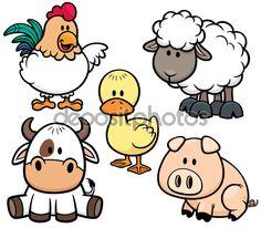 pinterest animales de la granja animados - Buscar con Google