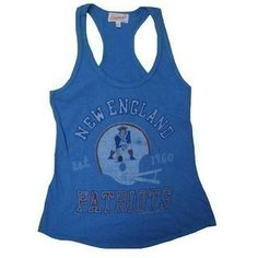 The Official Patriots ProShop Mobile | Ladies Throwback Racerback Tank