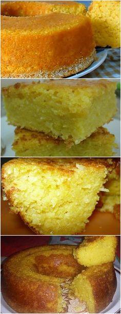 BOLO DE MILHO DE LATINHA DE LIQUIDIFICADOR SUPER FÁCIL!!! VEJA AQUI>>>4 OVOS – 1 LATINHA DE MILHO VERDE COM A ÁGUA DA CONSERVA – 1 XÍCARA DE ÓLEO (XÍCARA 200 ML) DE ÓLEO #receita#bolo#torta#doce#sobremesa#aniversario#pudim#mousse#pave#Cheesecake#chocolate#confeitaria
