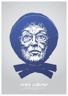 Sister Aloysius on Behance  http://www.behance.net/gallery/Sister-Aloysius/8458475  www.tzawistowski.pl