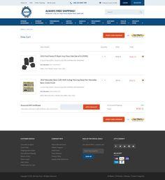 AM AutoParts Website Redesign by Amal Xavier