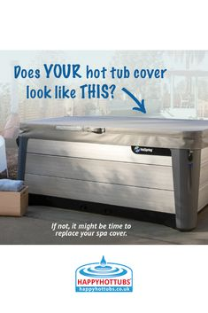 Has you cover become water log or has lost its shape then check out our handy guide on to measure a hot tub for a new cover Hot Tub Cover, Happy Hot, Hot Tubs, Spas, Hot Springs, Entryway Tables, Lost, Water, Check
