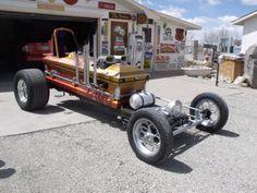 Kenny's Coffin Car