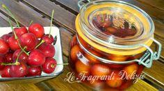 #ricettebloggerriunite #ciliegie sotto #spirito #blog #alicetv