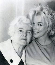Marilyn: Marilyn with Anne Karger