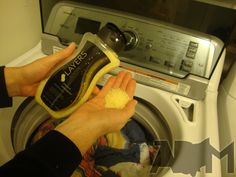 Washer Whiffs from the Layers line..straight into your load...safe for HE washers, too. www.sarahrachsovich.scentsy.us