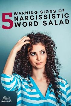What Is Narcissistic Word Salad? 5 Warning Signs Of Narcissistic Word Salad - Abuse Warrior Learn how to spot the main ingredients described in this article to recognize narcissistic word salad. Refrain from biting from now on, and you'll be one step closer to ending the cycle of abuse. Broken Relationships, Controlling Relationships, Healthy Relationships, Gossip Girl Quotes, Gaslighting, Codependency, Emotional Abuse, Family Relations