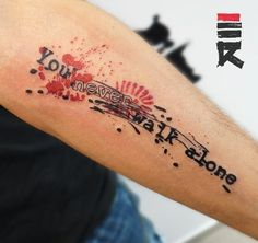 Trash polka - you never walk alone by enhancertattoo.deviantart.com on @DeviantArt