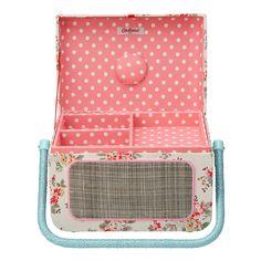 Gifts Under £50 | Kingswood Rose Radio Sewing Basket | CathKidston