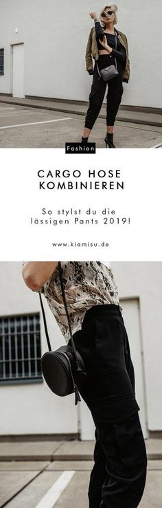 Cargo Hose kombinieren: So stylst du die lässigen Pants Going Out Outfits, Cool Outfits, Fashion Outfits, Cooler Style, Sport Outfit, German Fashion, Stylish Clothes For Women, Business Outfit, Casual Summer Outfits