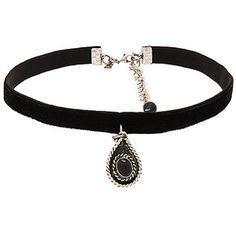 Natalie B Jewelry La Femme Boheme Velvet Choker