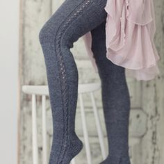 time no object gifts I'd like to give – Kindermode sommer Mode Crochet, Knit Crochet, Thigh High Socks, Thigh Highs, Creation Couture, Diy Clothing, Knitting Socks, Diy Fashion, Knitwear