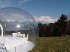 Casa Bubble: Prefab Inflatable Pod Buildings Pop Up at Dwell o...