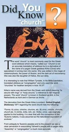 Meaning of church
