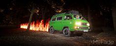 Back to Phils Future - Phils VW Camper Van-91
