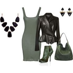 """Saturday: Nite with the girls on the town"" by bsimontwin on Polyvore"