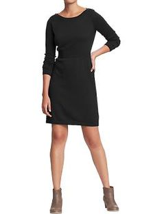 Women's Button-Shoulder Sweater Dresses | Old Navy  +leggins+boots+belt+scarf
