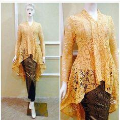 Kutu baru m odern Kebaya Lace, Kebaya Brokat, Kebaya Dress, Dress Brukat, Batik Dress, Hijab Dress, Dress Muslim Modern, Muslim Dress, Muslim Fashion