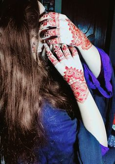 Uploaded by 😘Aleena😘. Find images and videos about cute, girly stuff and mehndi on We Heart It - the app to get lost in what you love.