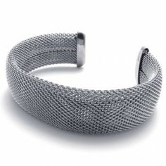 Cables Big Titanium Bracelet 20601