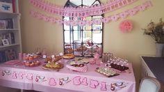 #Babyshower niña en Madrid. #Catering y decoración especial