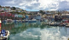 Brixham Harbour Devon - One of our favorite places