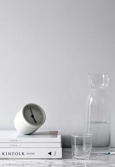Norm Tumbler alarm clock for Menu | My home featured on Amara | These Four Walls blog