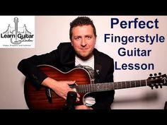 Perfect - Fingerstyle Guitar Tutorial - Ed Sheeran - Drue James - Part 1 Fingerstyle Guitar Lessons, Acoustic Guitar Lessons, Guitar Tips, Guitar Chords, Guitar Chord Progressions, Guitar Tutorial, Music Theory, Music Lessons, Ed Sheeran