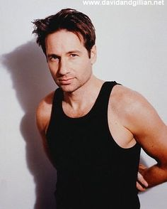 It wouldn't be make believe if you believed in me David Duchovny, David And Gillian, Mark Seliger, Attracted To Someone, Gillian Anderson, Great Tv Shows, I Don T Know, Good Looking Men, Bellisima