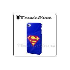 Carcasa rígida iPhone 4/4s Superman http://www.tutiendastore.es/fundas-rigidas-iphone-4-4s/42-funda-carcasa-superman-iphone-4-4s.html #iphone4 #iphone4s #superman #tutiendastore