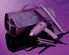 GHD Purple Hair Straightener Set $89