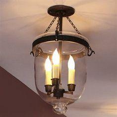 jvi designs 1150 three light semi flush bell jar lantern linens and things 370 bell jar lighting fixtures