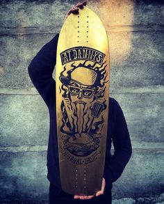 Custom longboards Runaway longboards & KARTESS