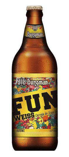 FUN Weiss. Cervejaria Burgman. Sorocaba-SP #weiss #brazil #beer