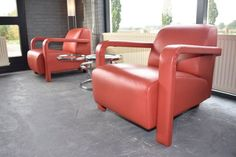 Nu in de #Catawiki veilingen: Hugo de Ruiter door Leolux - 2 design fauteuils