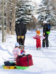 """Telluride was named one of the """"25 Best Family Vacations this Winter"""" in Today's Parent Magazine. Check it out!"""