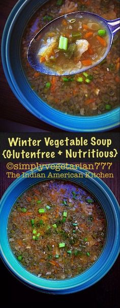 Winter Vegetables Soup {GlutenFree & Nutritious}
