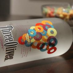 Froot Loops Flavored Vodka. Yes, you read that right...