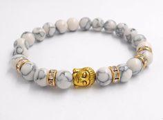 >> Click to Buy <<  Hot   Buddha head beads energy volcano stone bracelet beads Jewelry For Men Women #Affiliate