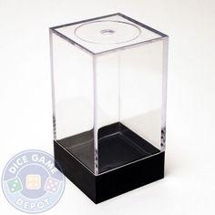 Dice Storage Or Display Box